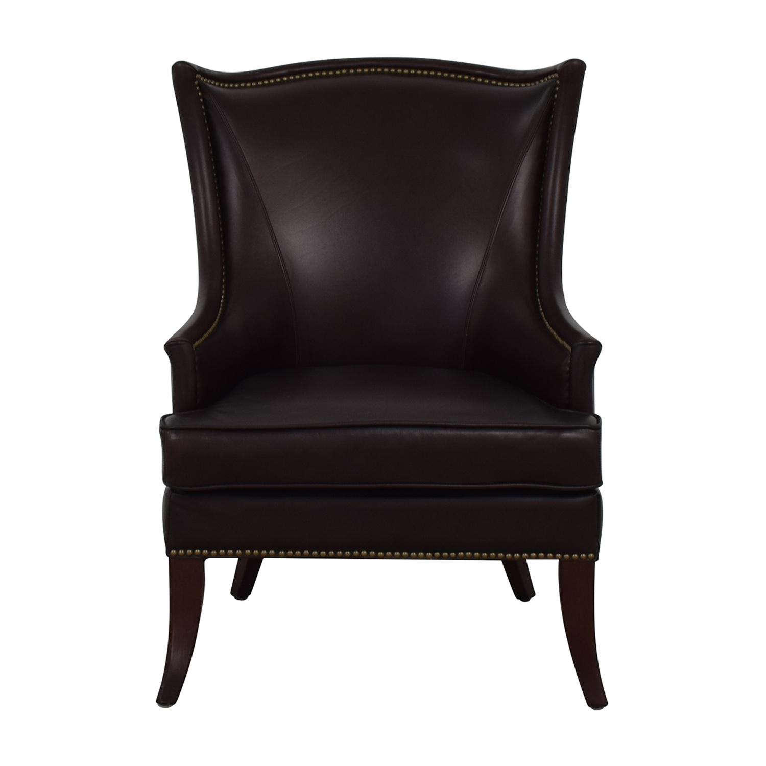 Gentil Buy Bombay Company Brown Nailhead Leather Accent Chair Bombay Company Accent  Chairs