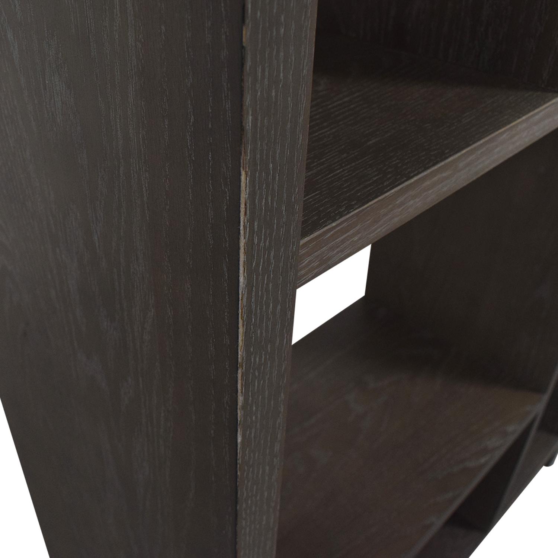 West Elm West Elm Asymmetrical Wood Bookcase discount