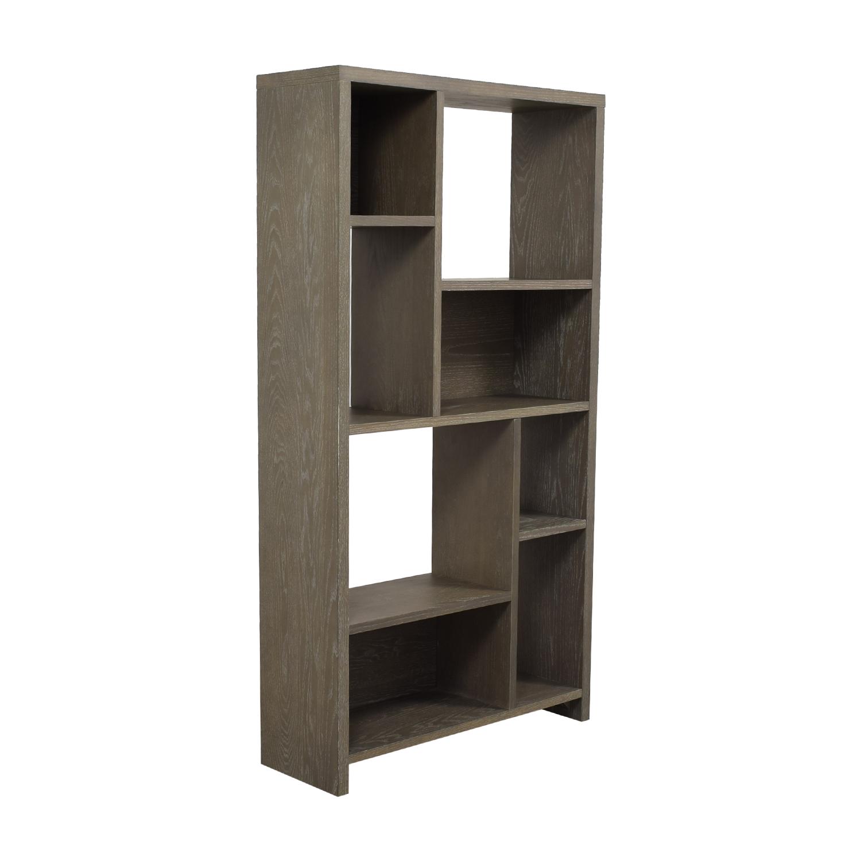 West Elm West Elm Asymmetrical Wood Bookcase price