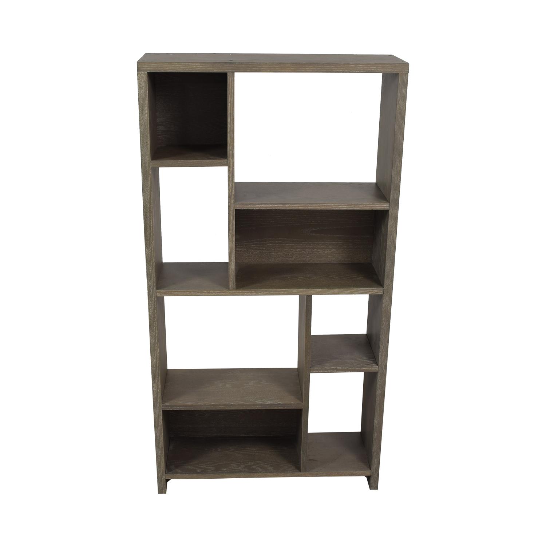West Elm West Elm Asymmetrical Wood Bookcase used