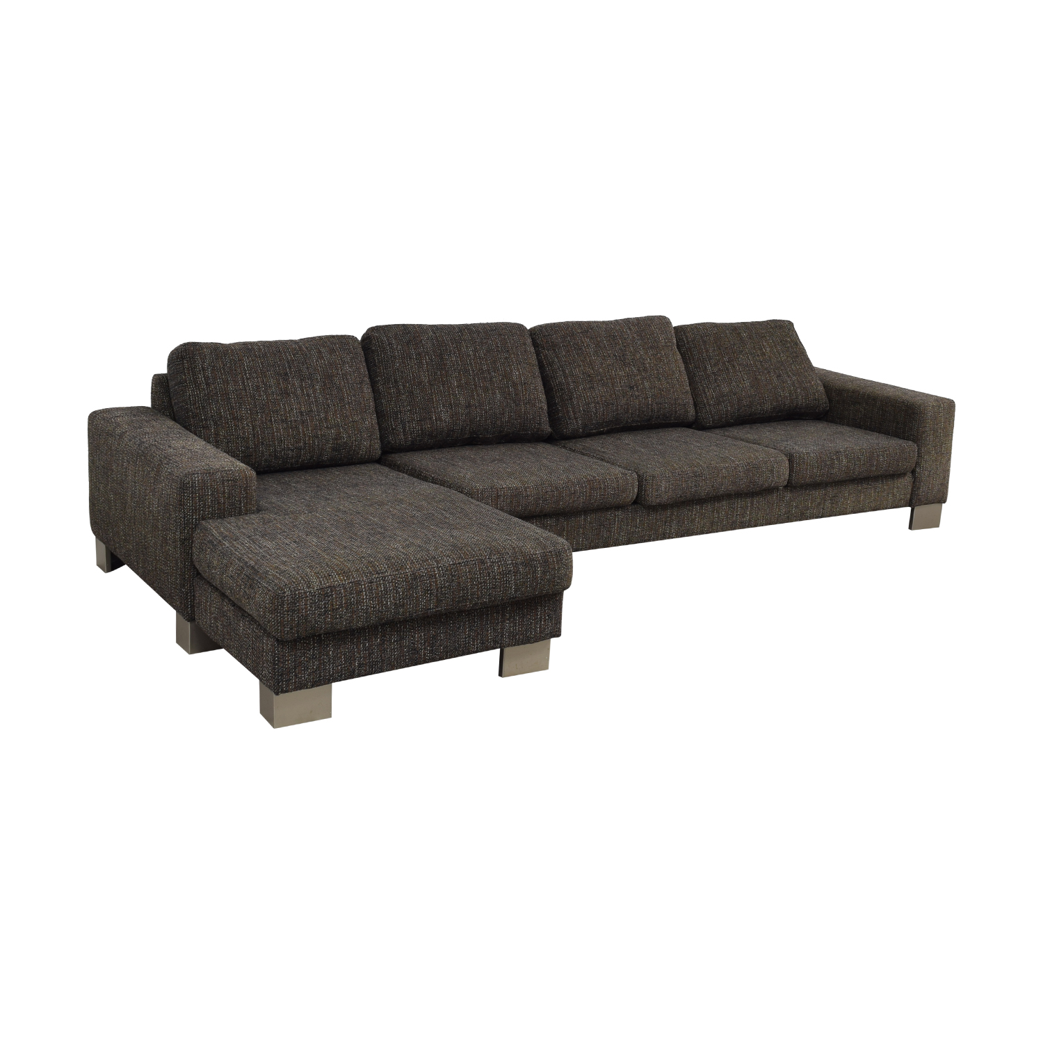 BoConcept BoConcept Brown Sectional Couch for sale