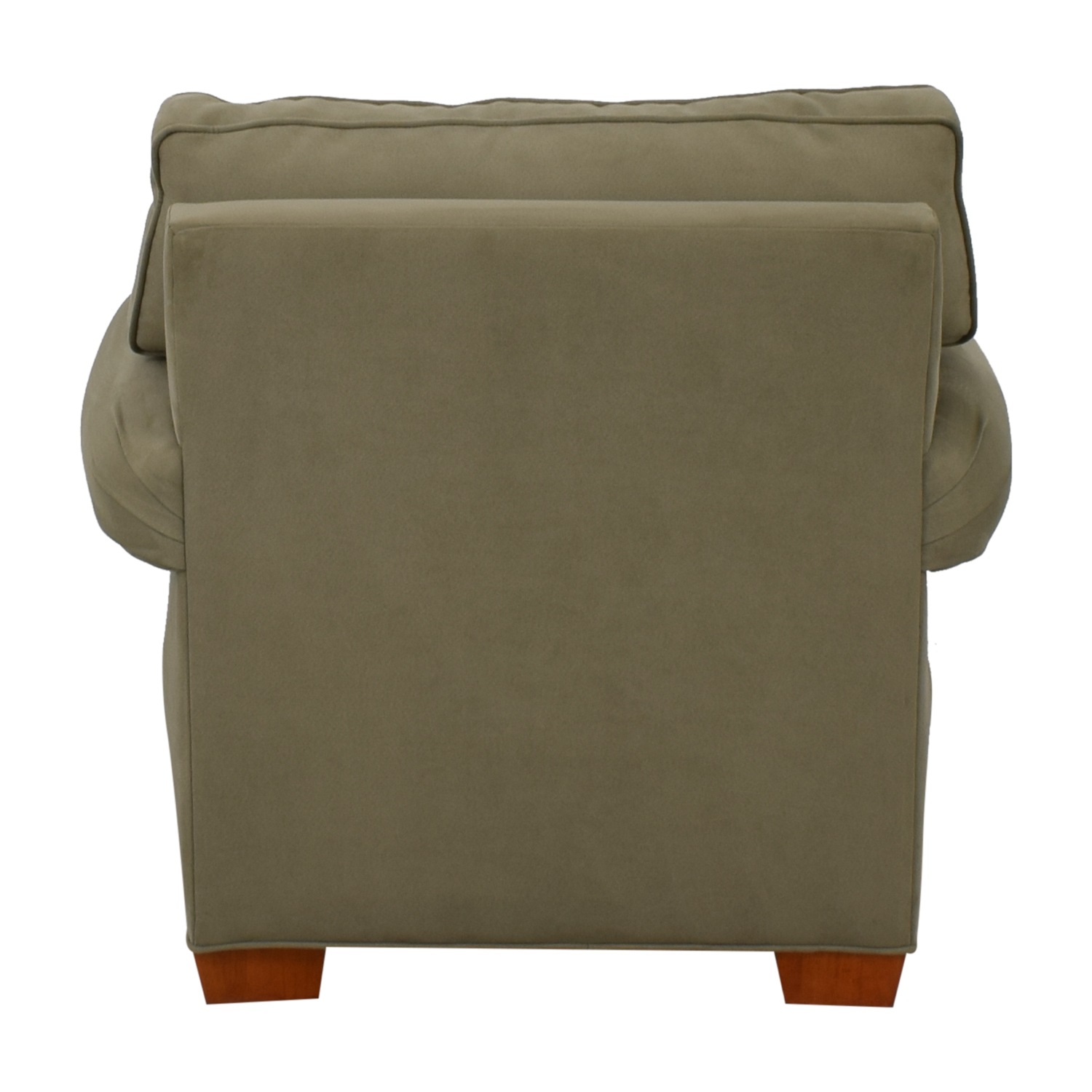 Raymour & Flanigan Raymour & Flanigan Olive Green Accent Chair on sale