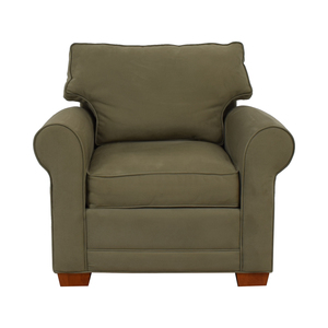 Raymour & Flanigan Raymour & Flanigan Olive Green Accent Chair dimensions