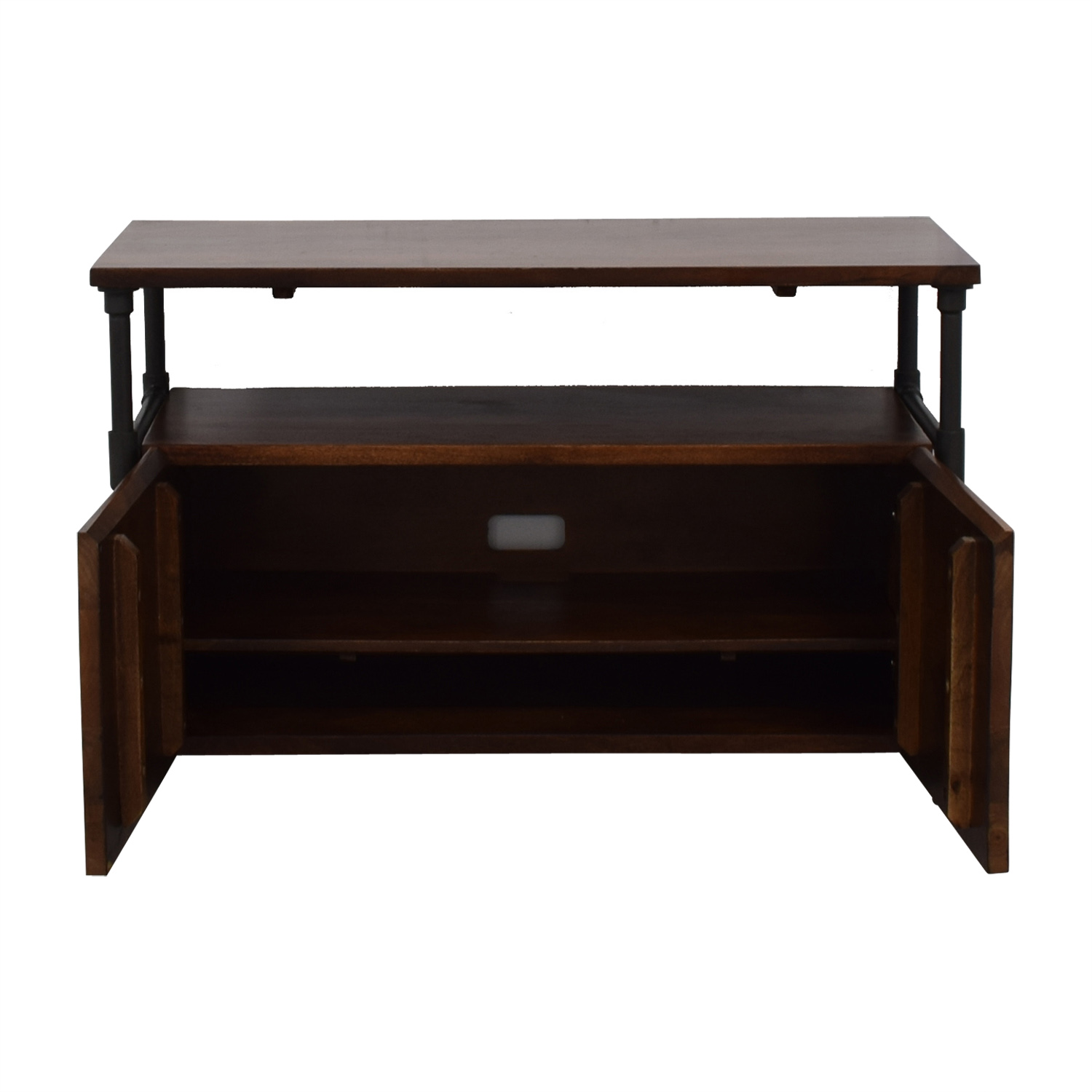 West Elm West Elm Pipe Media Console Short Cafe dimensions