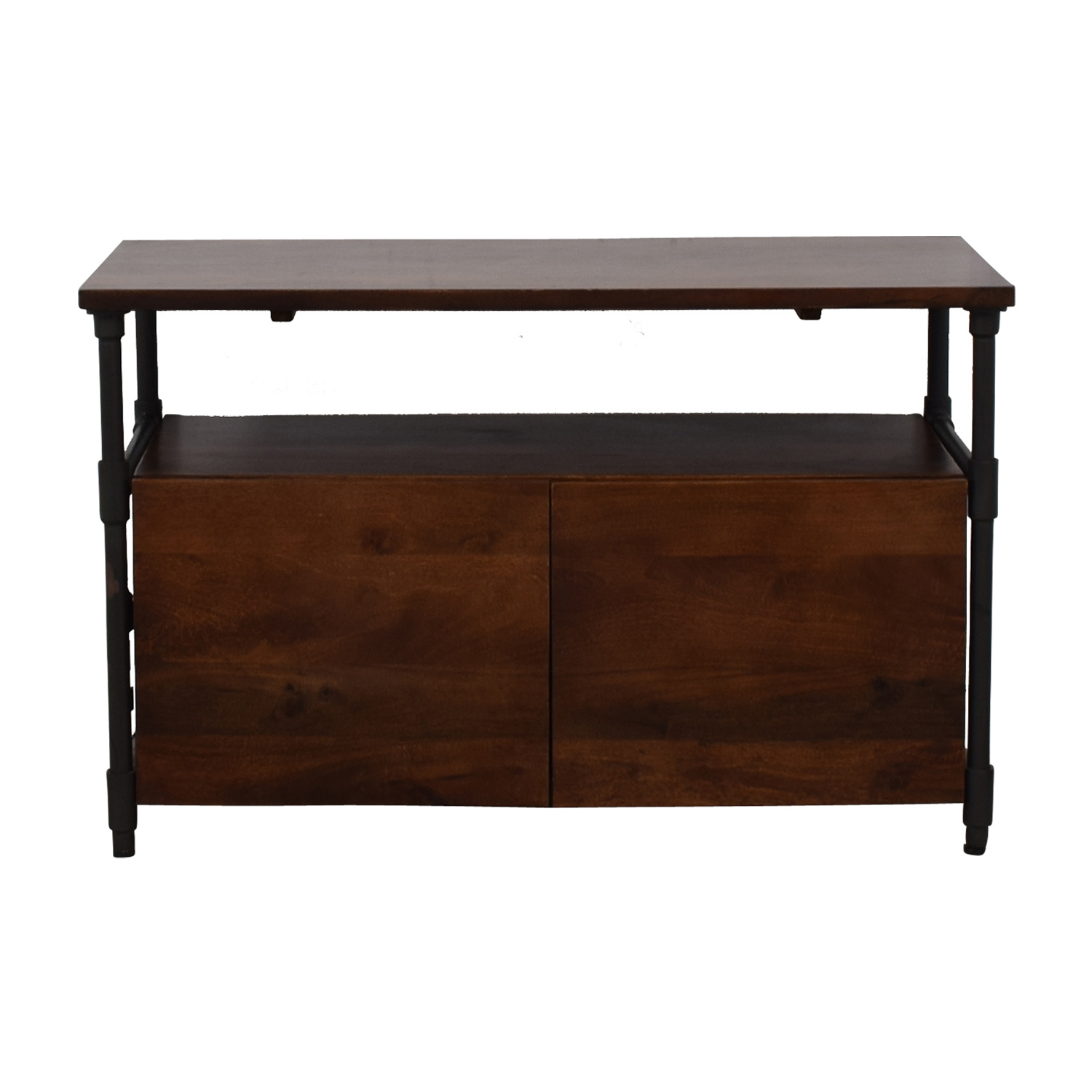 West Elm West Elm Pipe Media Console Short Cafe nj
