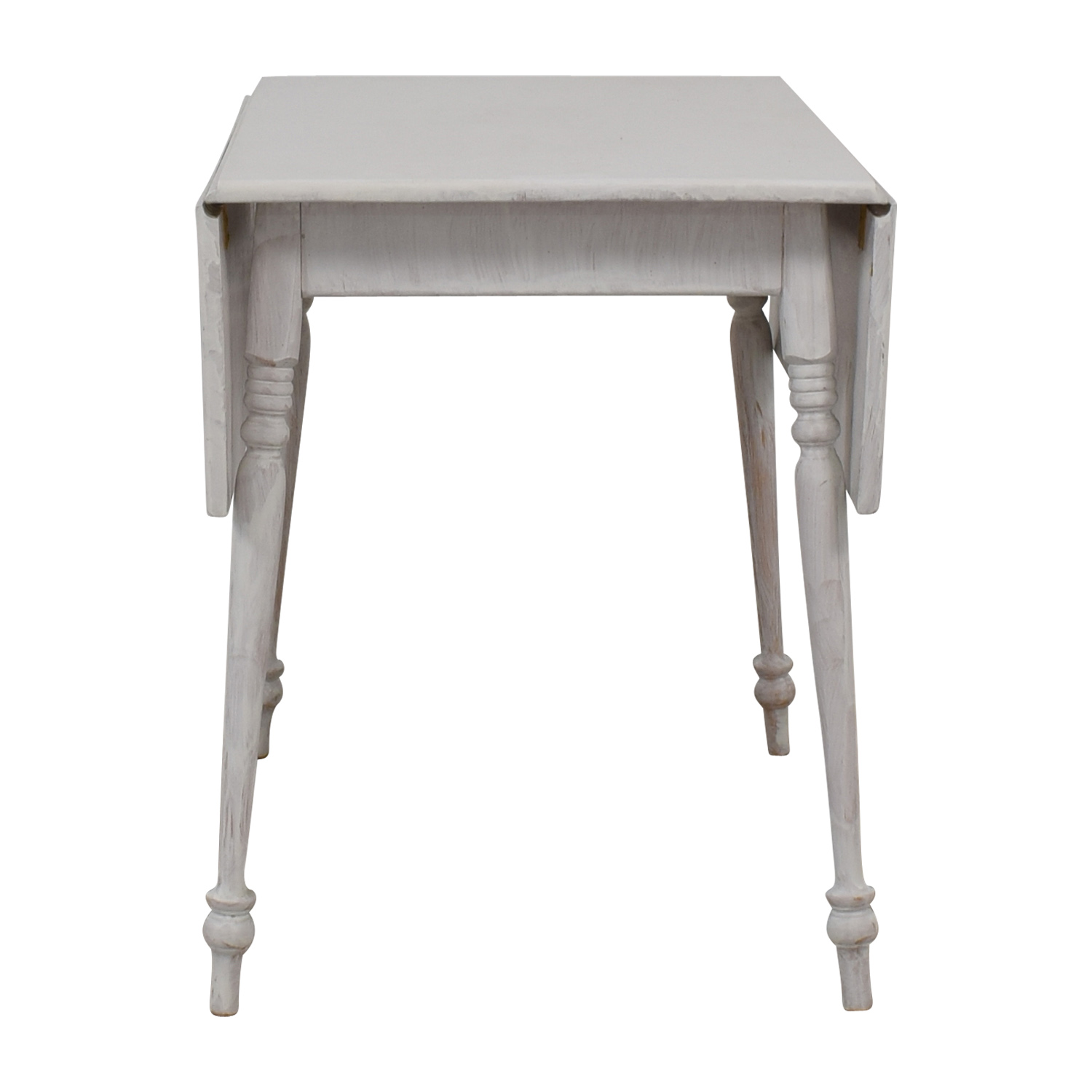Amish White Foldout Table