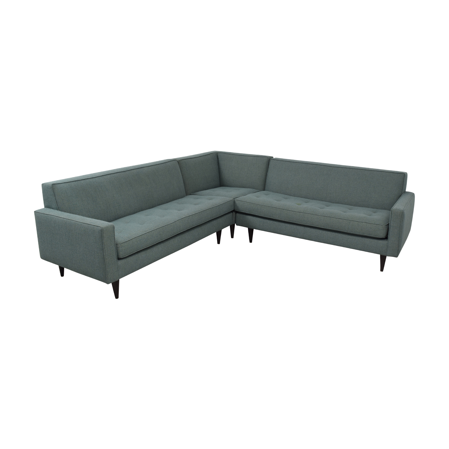 Room & Board Room & Board Reese Tactum Teal Sectional coupon