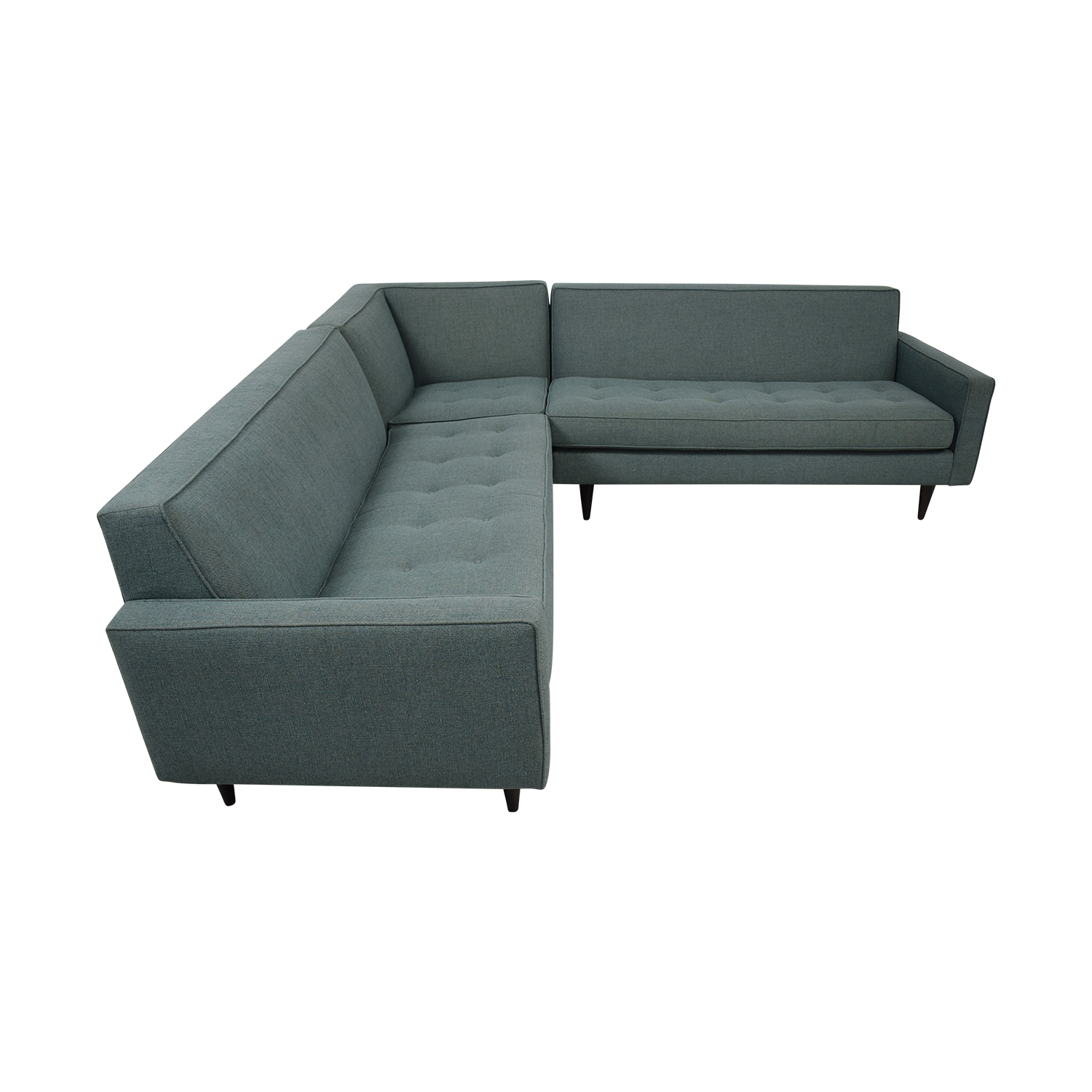 Room & Board Room & Board Reese Tactum Teal Sectional used