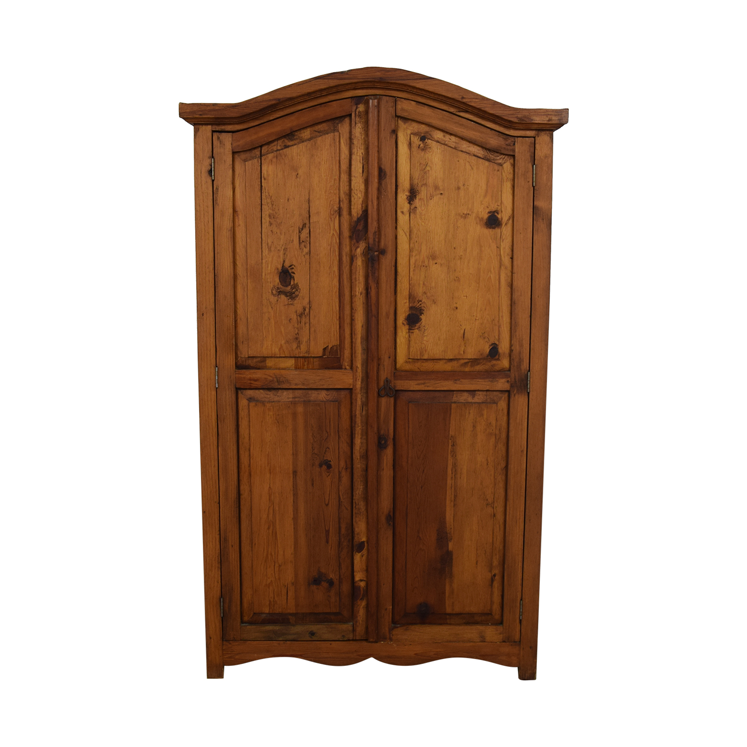 Wood Wardrobe Armoire brown