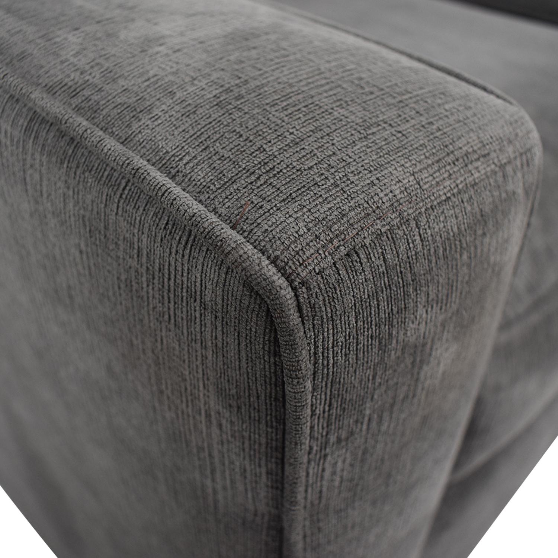 buy Macy's Grey Radley Loveseat Macy's Sofas