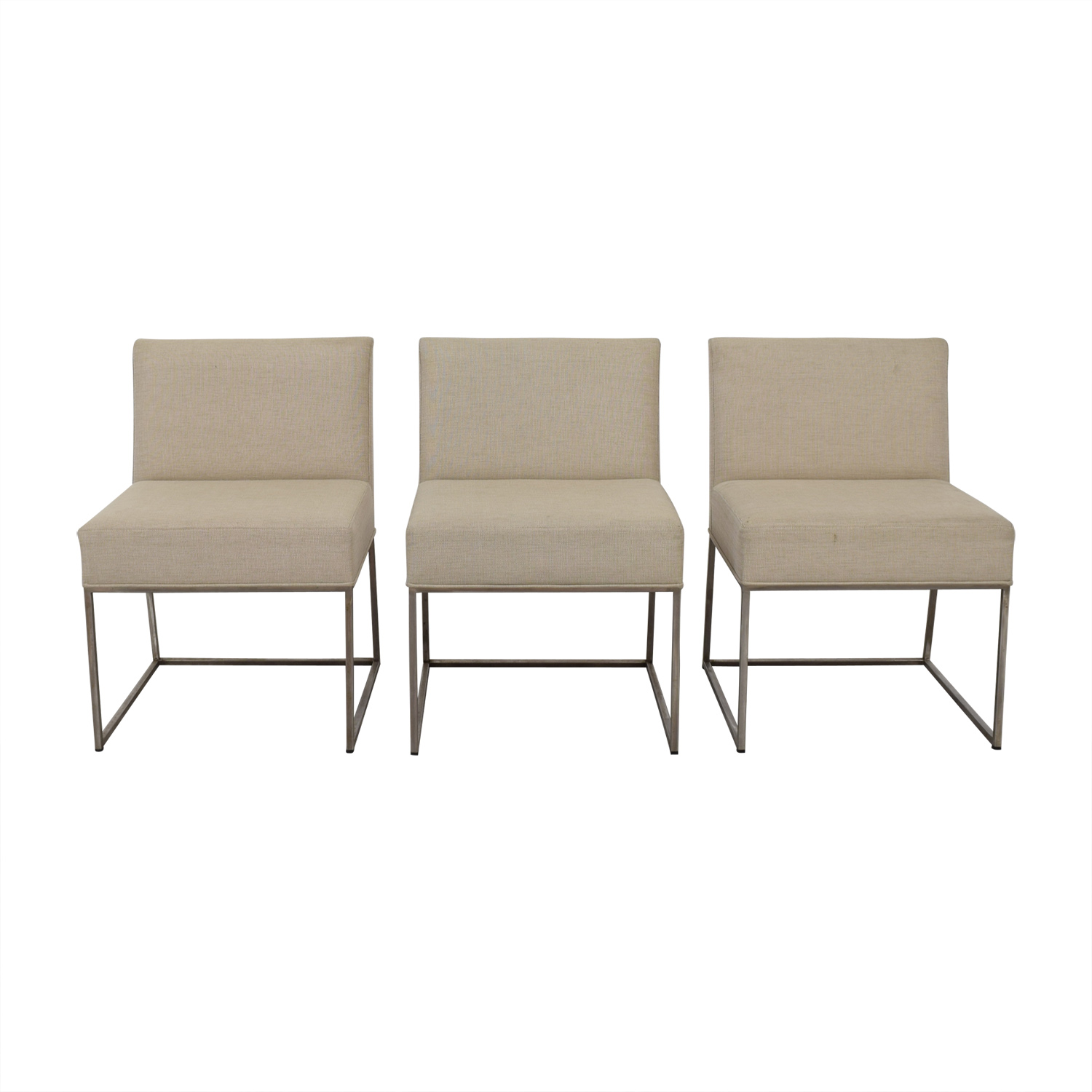Kastiel Kastiel Beige Upholstered Dining Chairs coupon