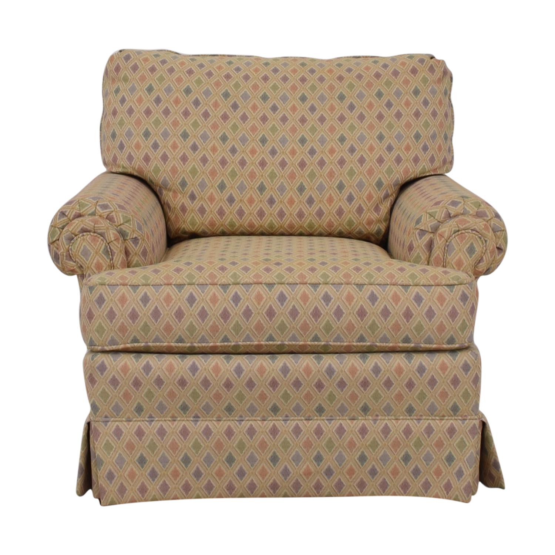 Morgan Stewart Morgan Stewart Custom Multi-Colored Accent Chair used