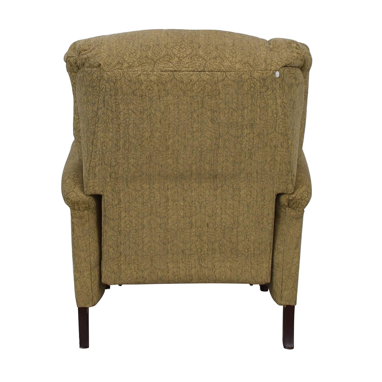 shop Lane Furniture Beige Tufted Recliner Lane Furniture Accent Chairs