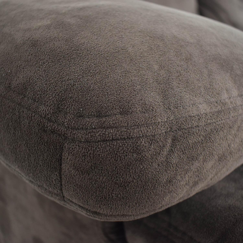 buy Macy's Macy's Brown Recliner Couch online