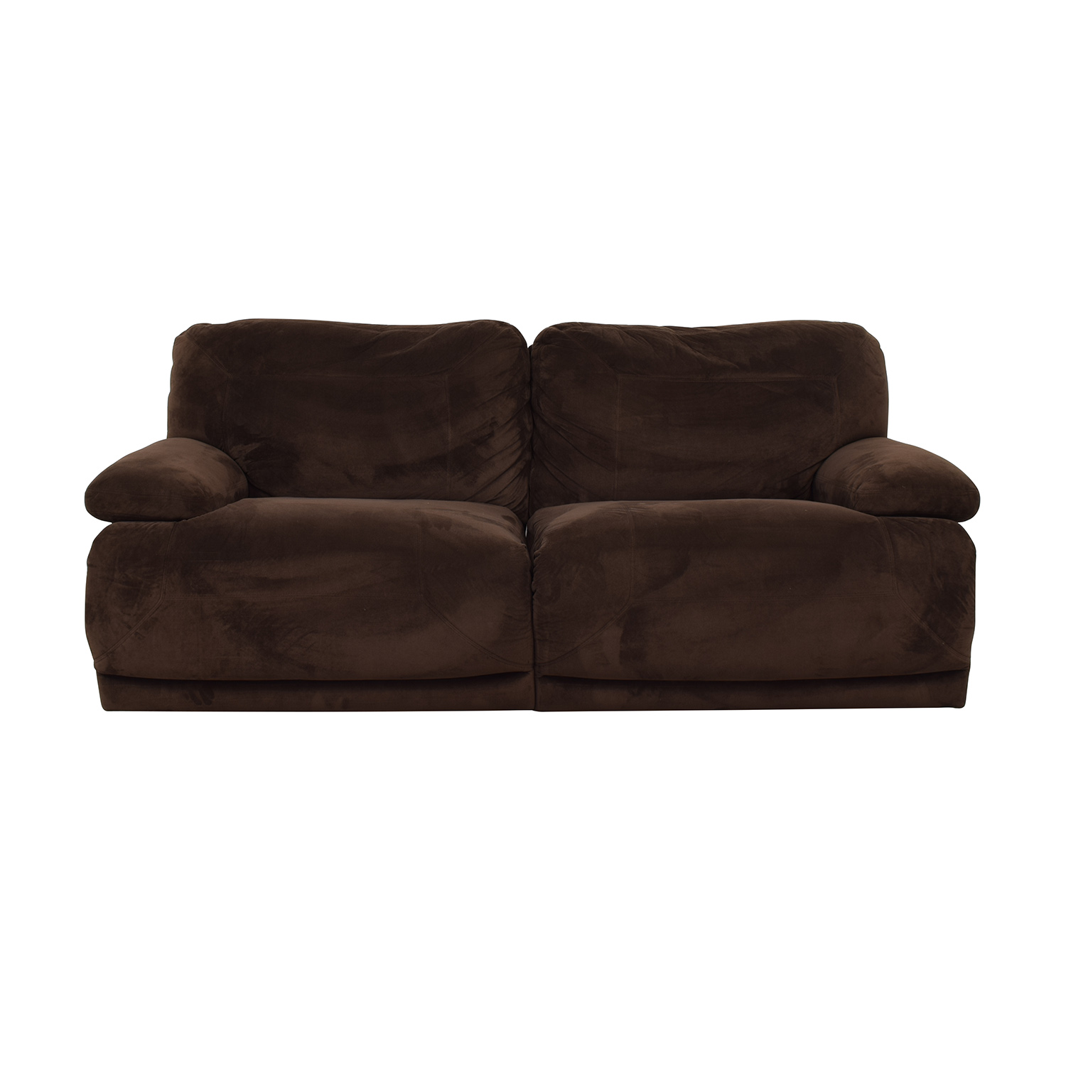 shop Macy's Brown Recliner Couch Macy's