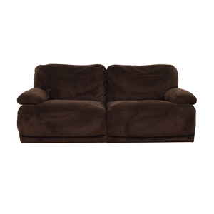 shop Macy's Macy's Brown Recliner Couch online