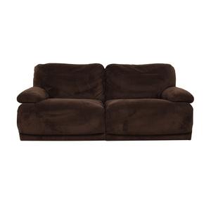 Macy's Macy's Brown Recliner Couch
