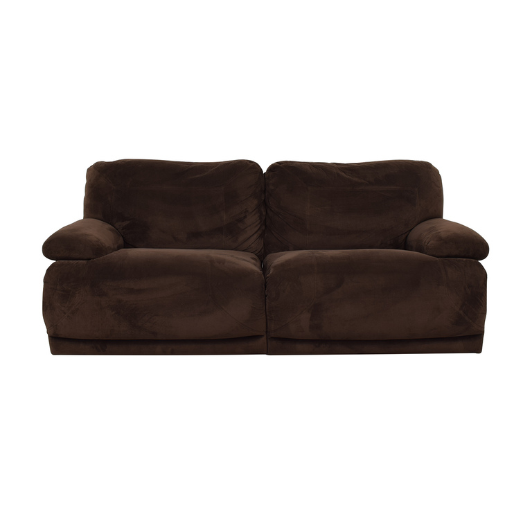 buy Macy's Macy's Brown Recliner Couch online