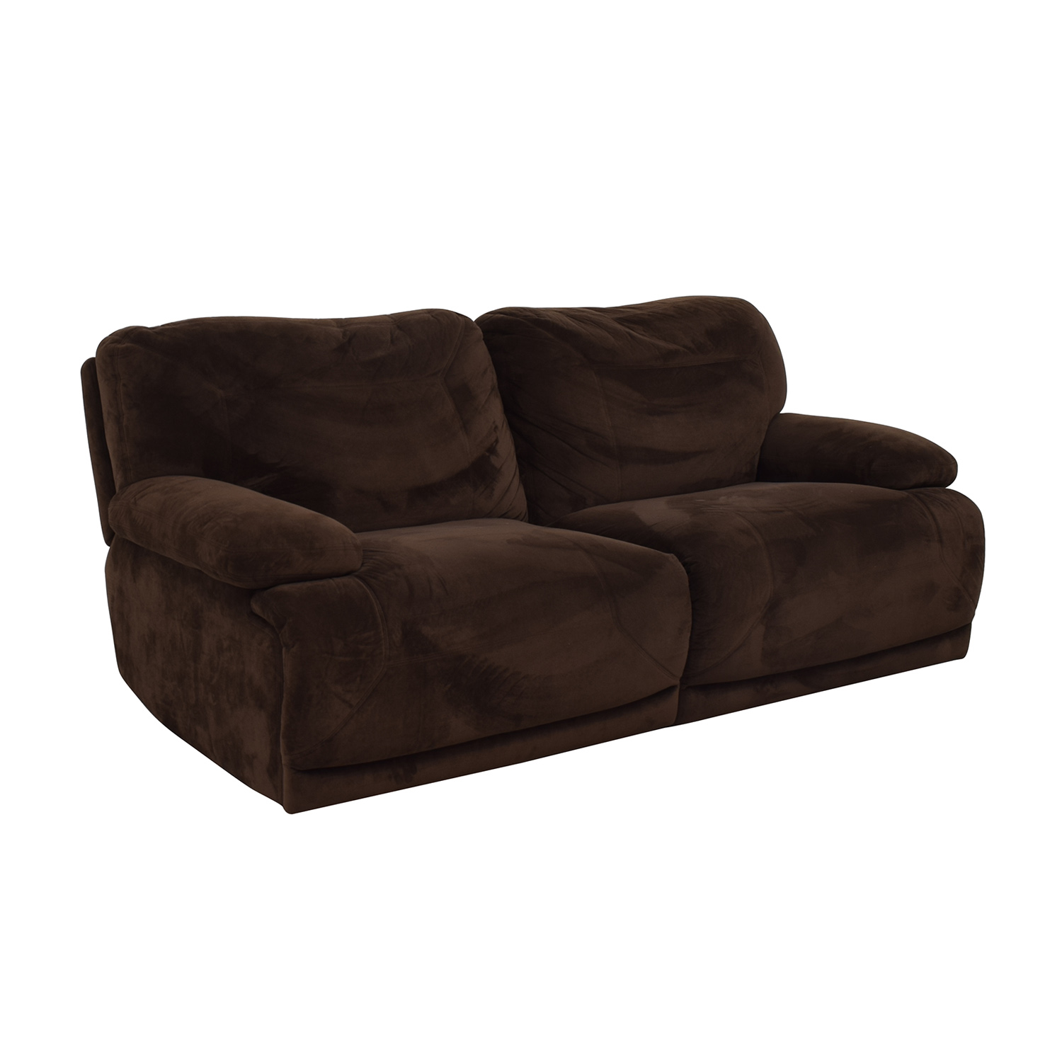 Macy's Macy's Brown Recliner Couch coupon