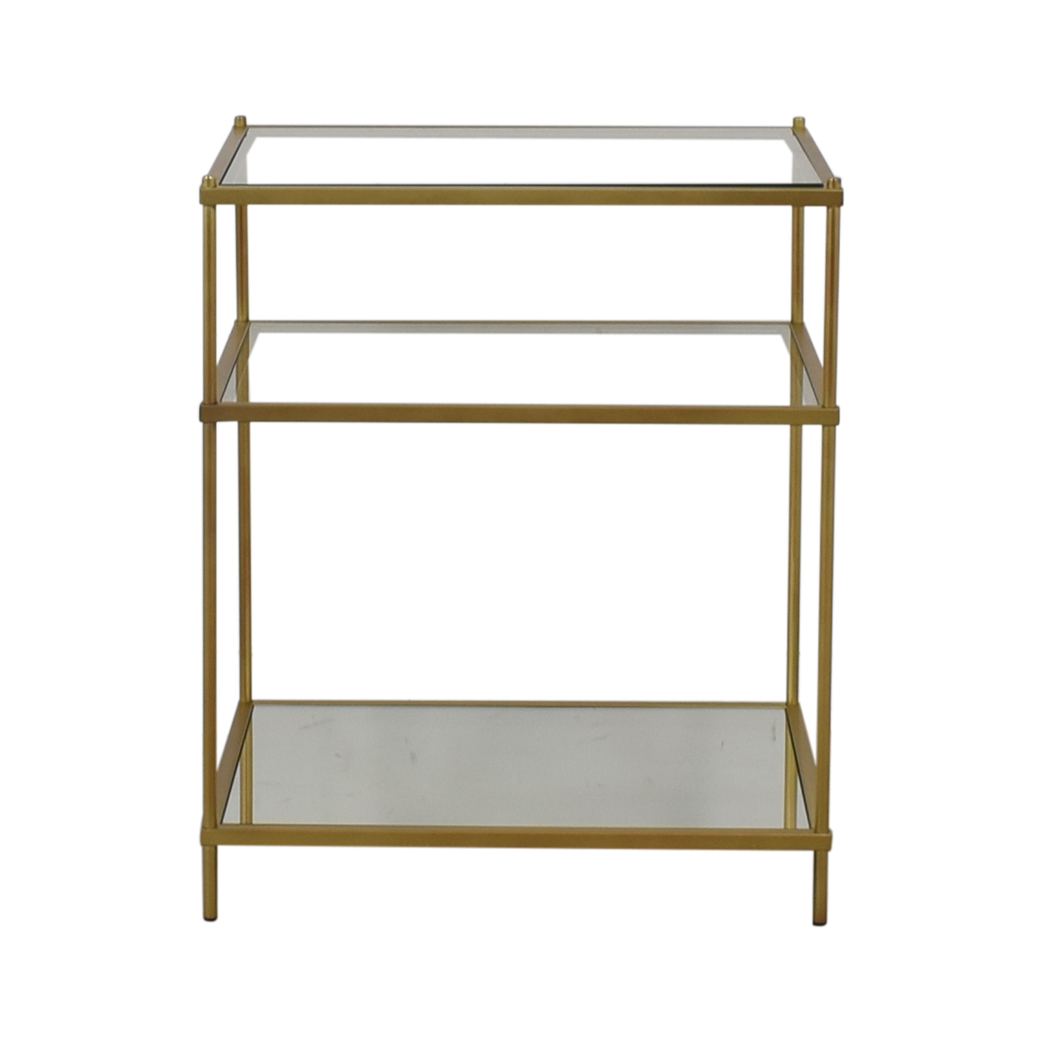 buy West Elm West Elm Terrace Nightstand Brass online