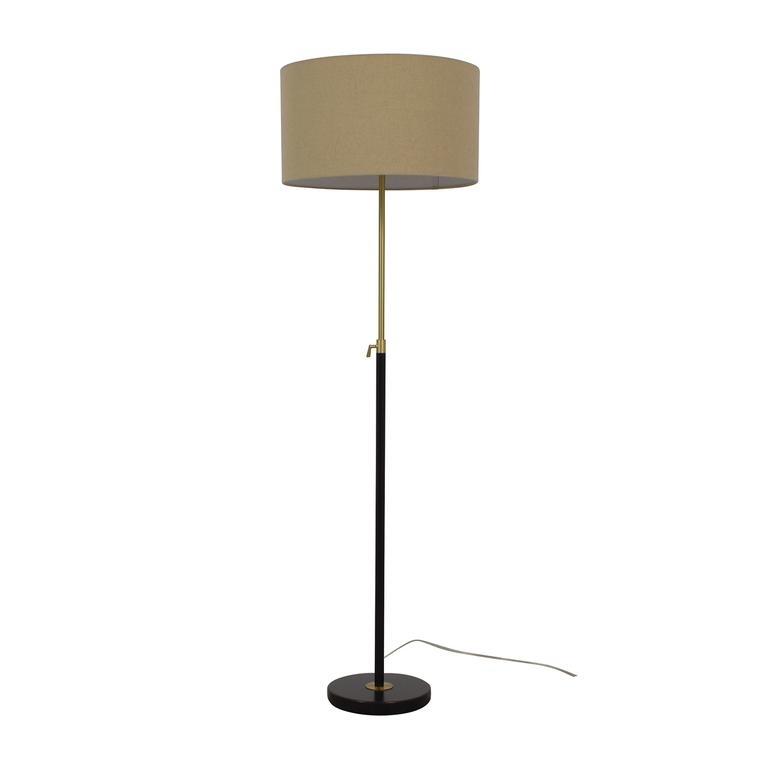 buy West Elm West Elm Telescoping Floor Lamp Antique Bronze online