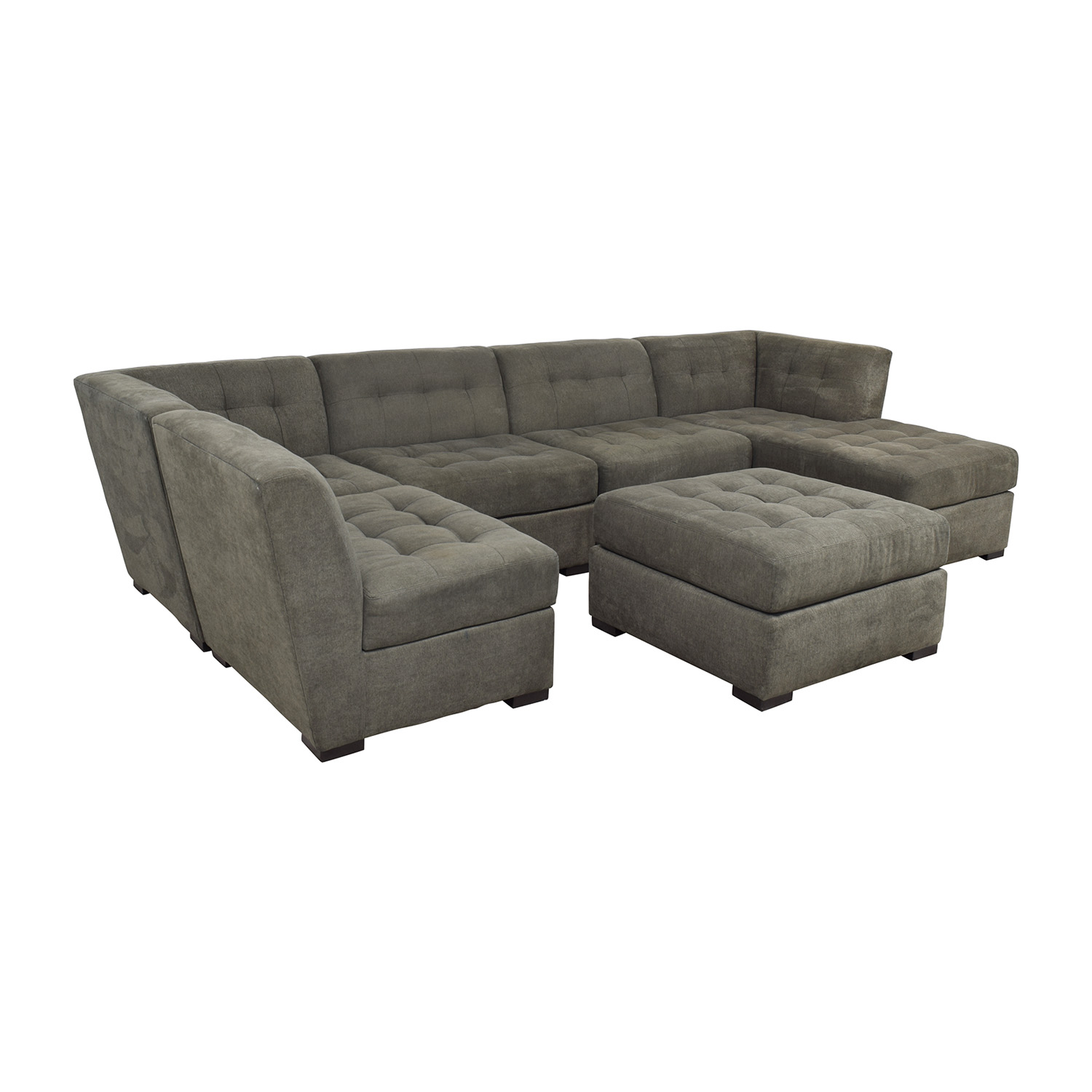 Wondrous 82 Off Macys Macys Roxanne Ii Modular Sectional Sofa With Chaise Ottoman Sofas Creativecarmelina Interior Chair Design Creativecarmelinacom