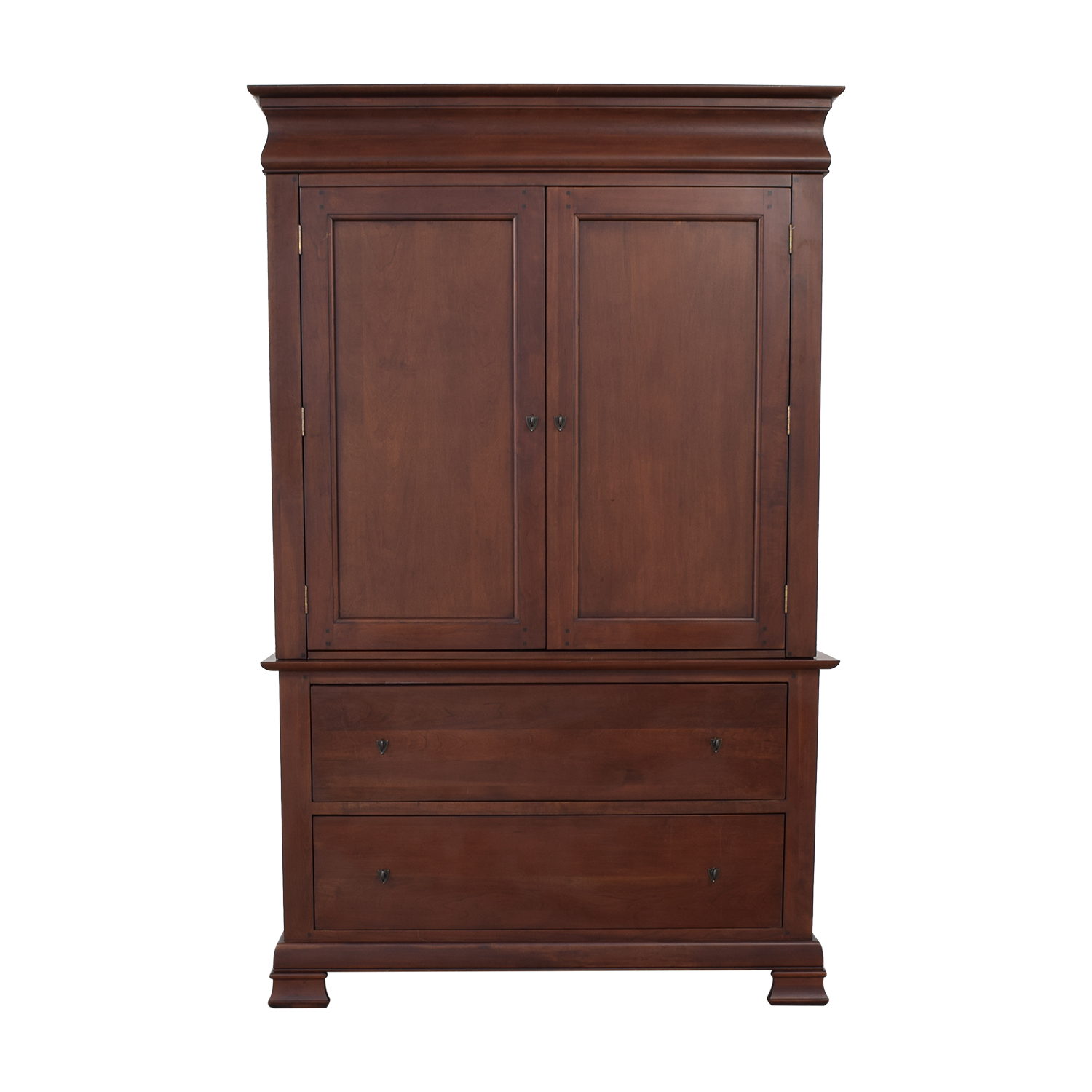 A-America Wood Furniture Wood Entertainment Armoire A-America Wood Furniture