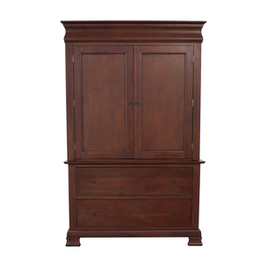 A-America Wood Furniture A-America Wood Furniture Wood Entertainment Armoire for sale