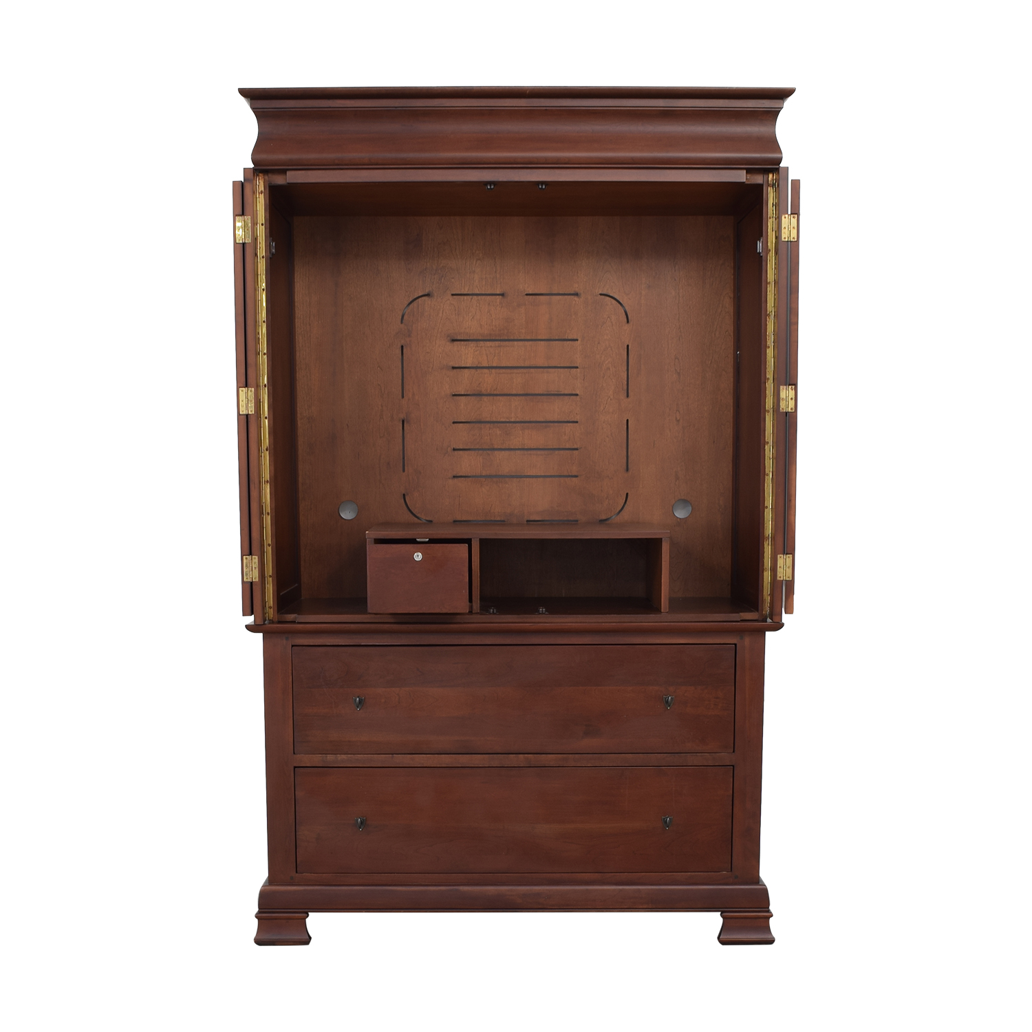 A-America Wood Furniture A-America Wood Furniture Wood Entertainment Armoire Wardrobes & Armoires