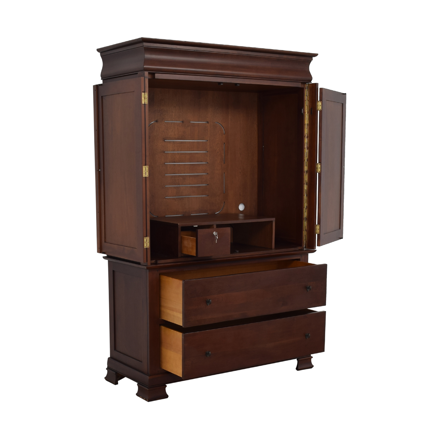 A-America Wood Furniture A-America Wood Furniture Wood Entertainment Armoire price
