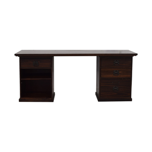 buy Pottery Barn Pottery Barn Bedford 4-Drawer Desk Set online
