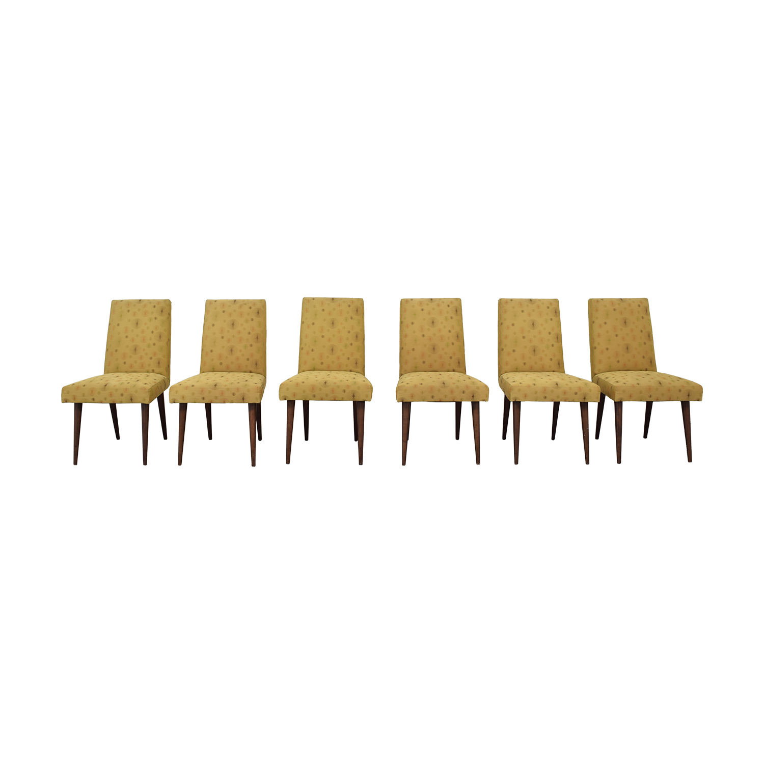 Room & Board Room & Board Multi-Colored Dining Chairs dimensions