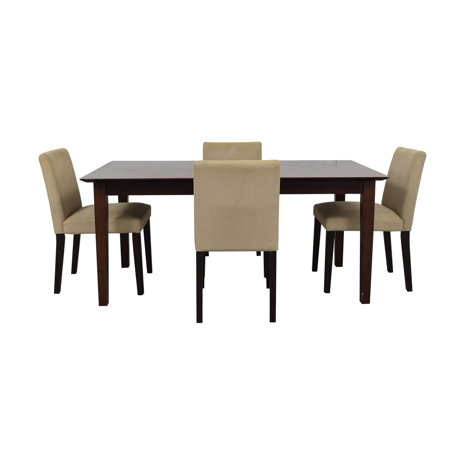 buy Cream Five Piece Dining Set