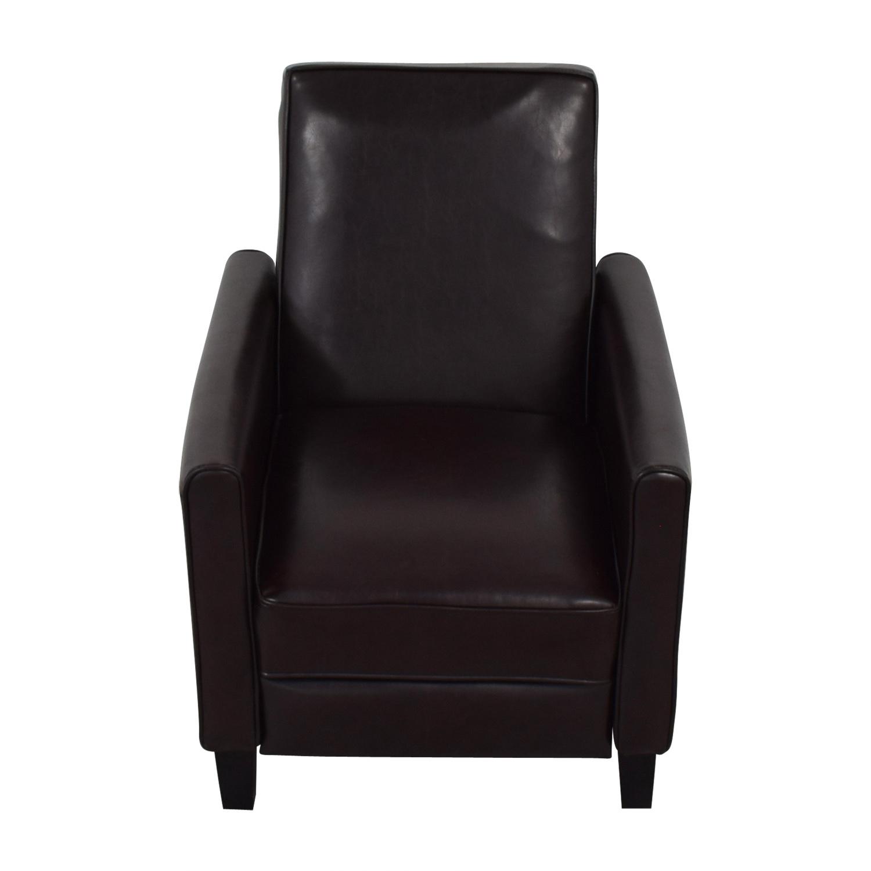 Zipcode Design Zipcode Design Lana Reclining Club Chair dimensions