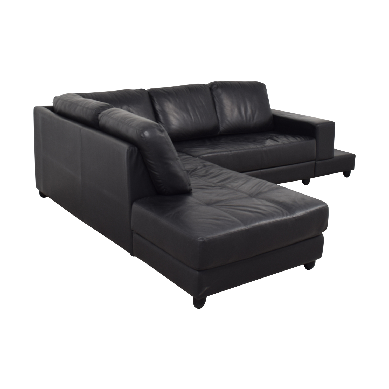 Coaster Black Sectional sale