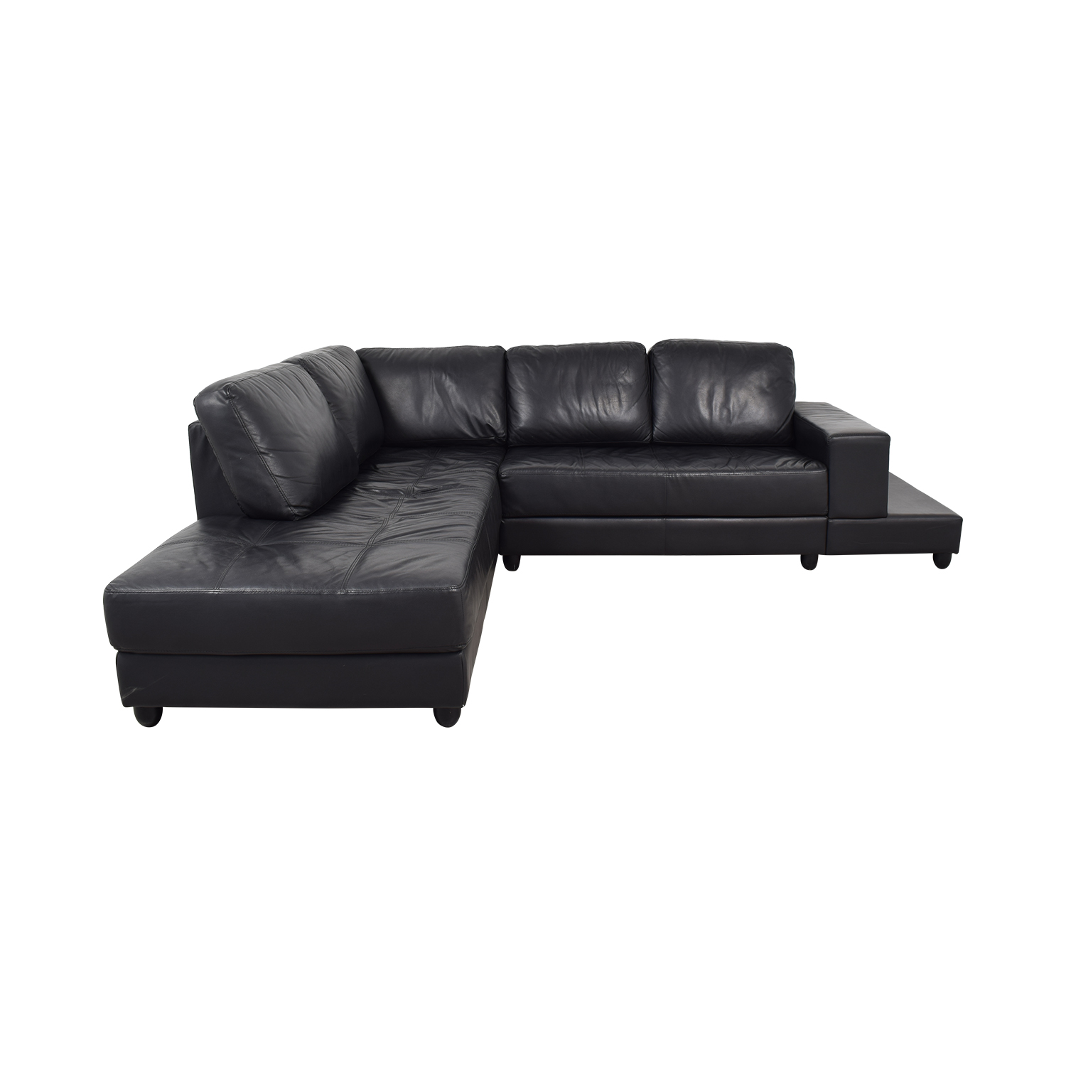 Coaster Coaster Black Sectional dimensions