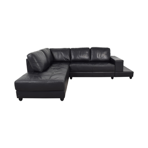 Coaster Coaster Black Sectional second hand