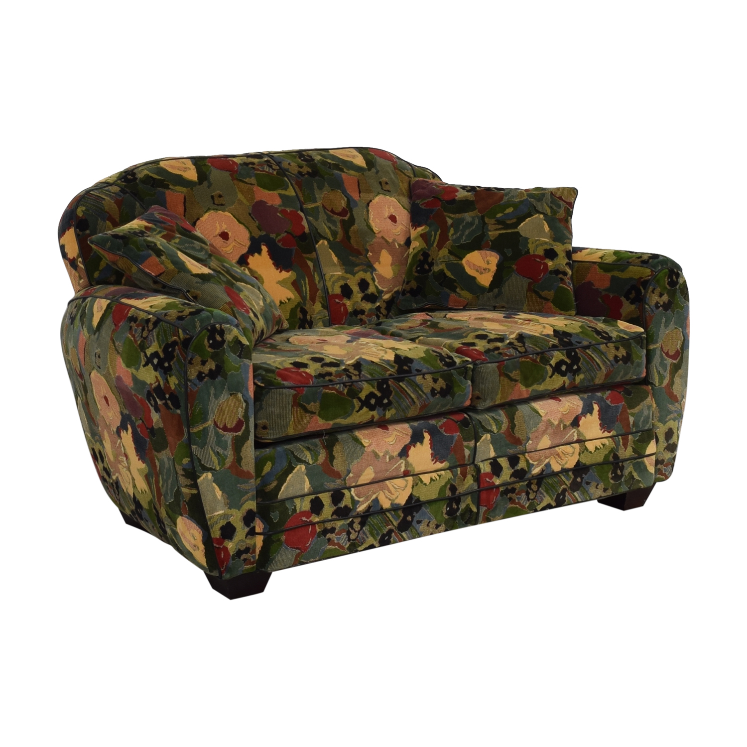 buy Old Hickory Tannery Floral Loveseat Old Hickory Tannery Loveseats