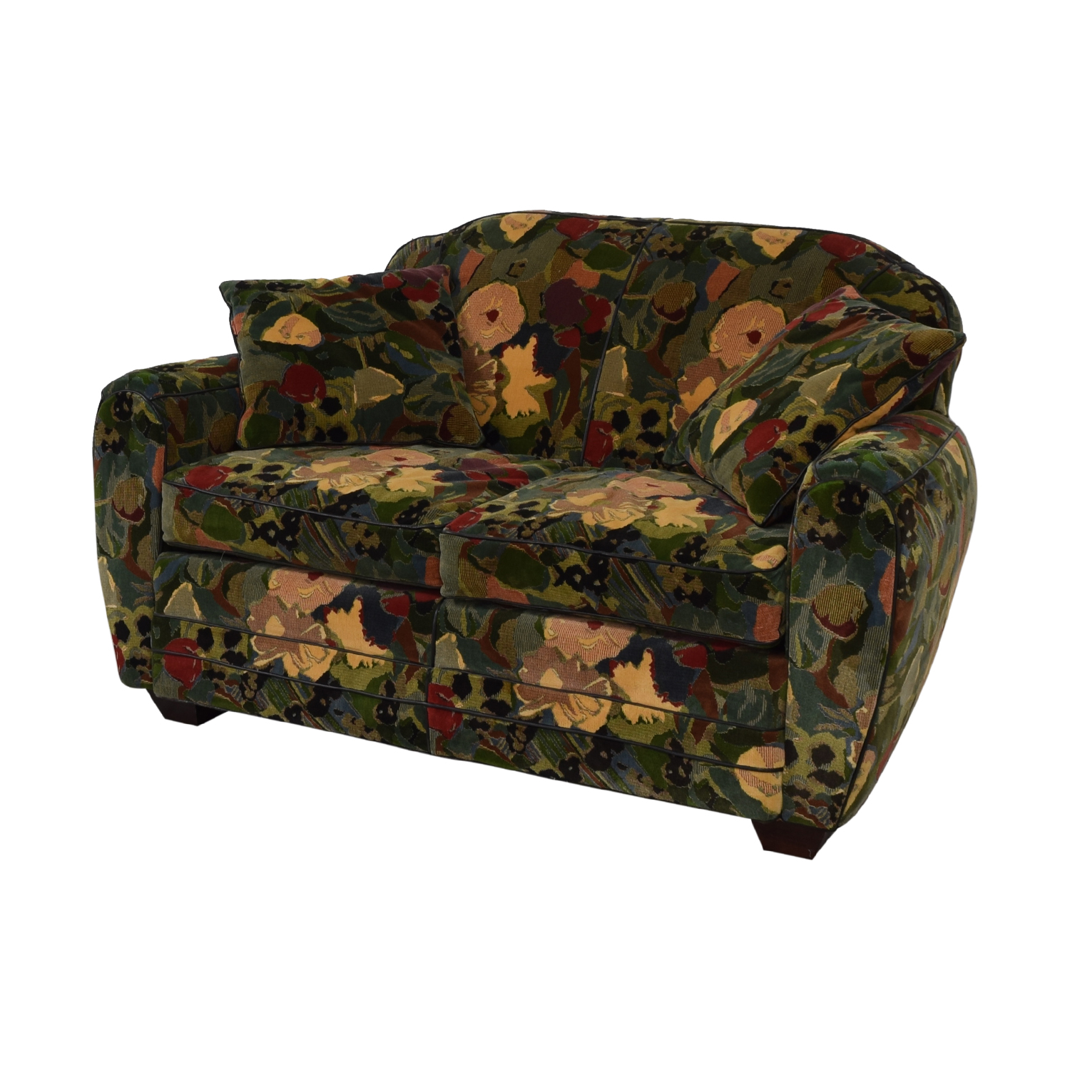 Old Hickory Tannery Old Hickory Tannery Floral Loveseat Loveseats