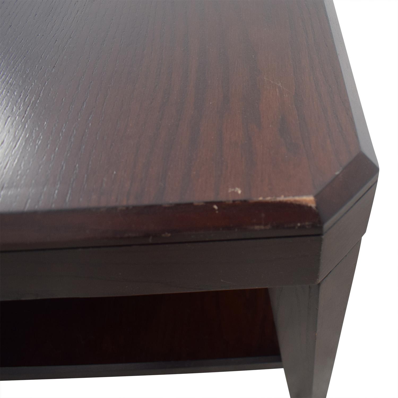 Crate & Barrel Crate & Barrel Rectangular Coffee Table nyc