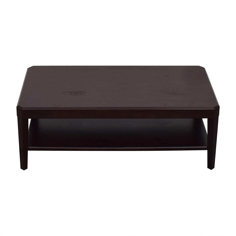 Crate & Barrel Crate & Barrel Rectangular Coffee Table Coffee Tables