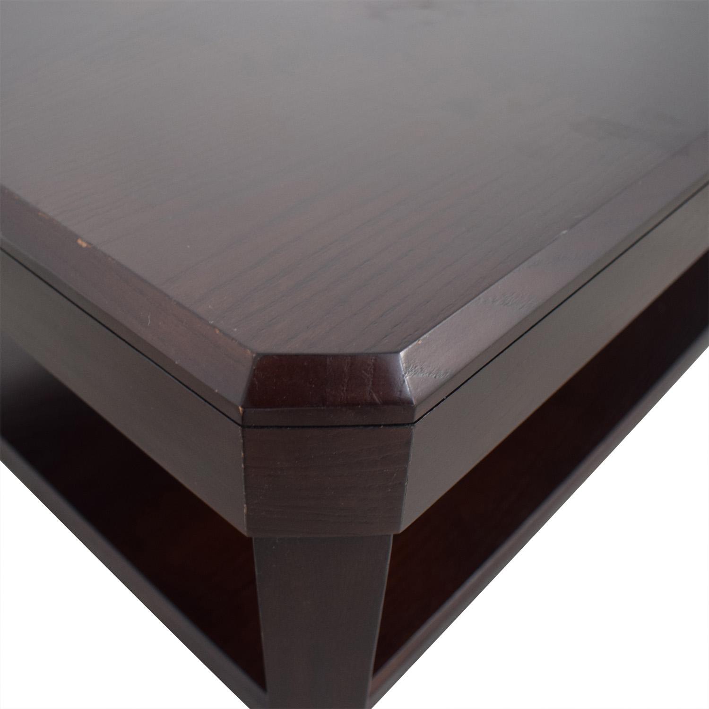 Crate & Barrel Rectangular Coffee Table Crate & Barrel