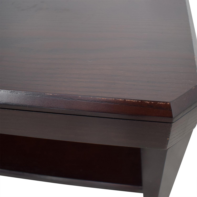 Crate & Barrel Crate & Barrel Rectangular Coffee Table dimensions