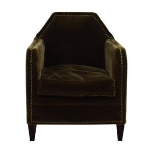 ABC Carpet & Home Nailhead Accent Chair sale