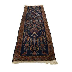 Persian Sarouk Multi-Colored Rug Runner / Decor