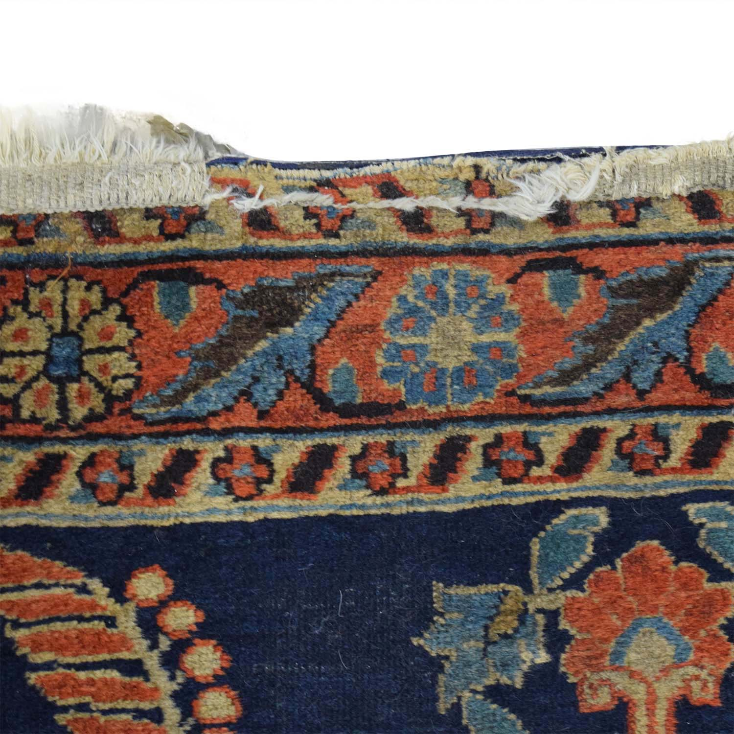 Persian Sarouk Multi-Colored Rug Runner / Decor