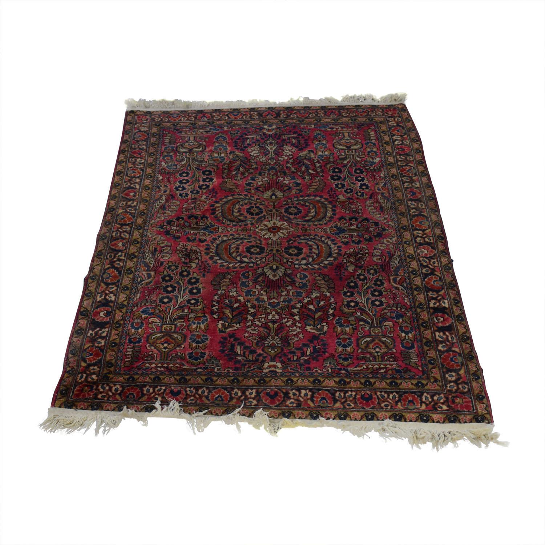 Persian Sarouk Rug MULTI COLOR