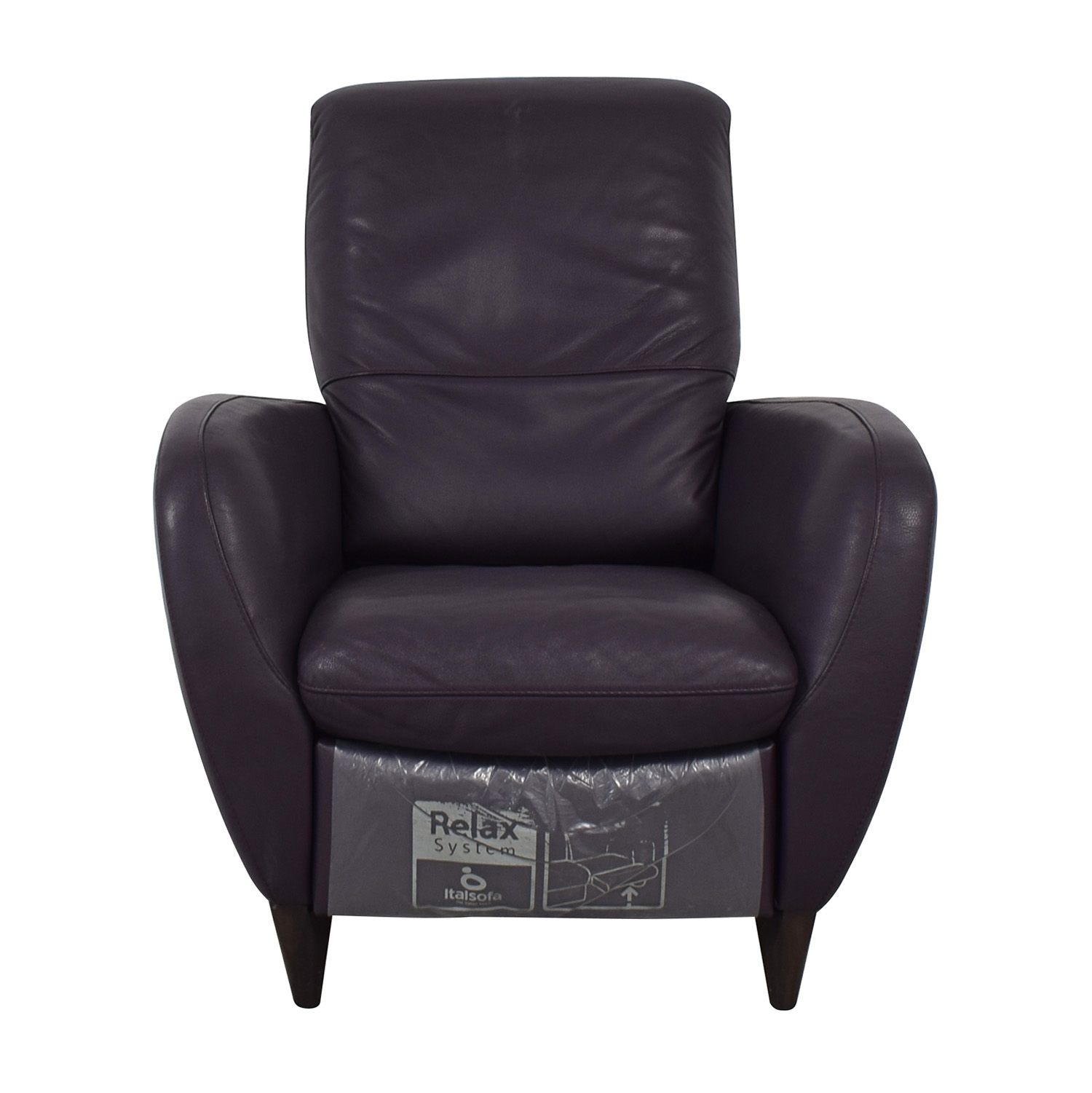 Natuzzi Natuzzi Italsofa Purple Recliner coupon