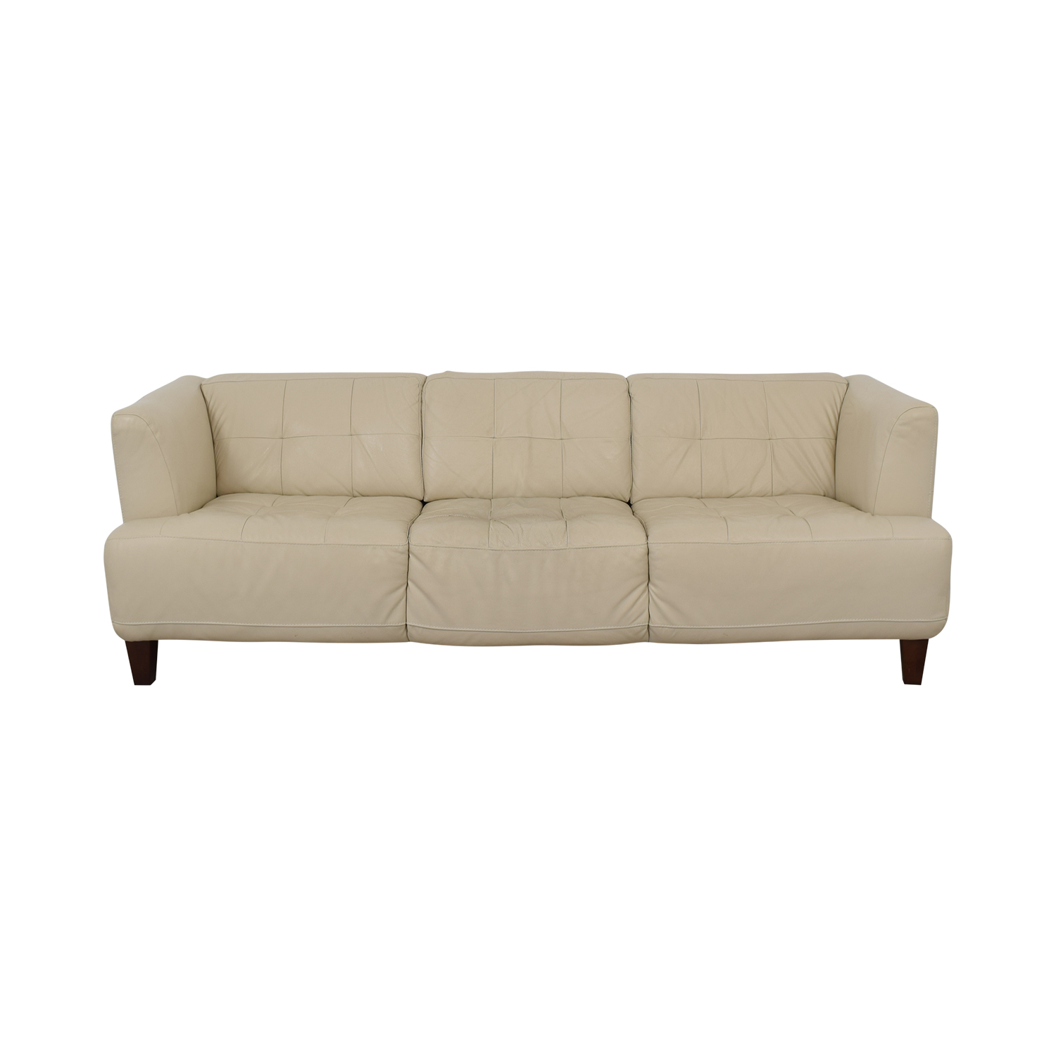 Chateau D'Ax Chateau D'Ax Leather Sofa discount