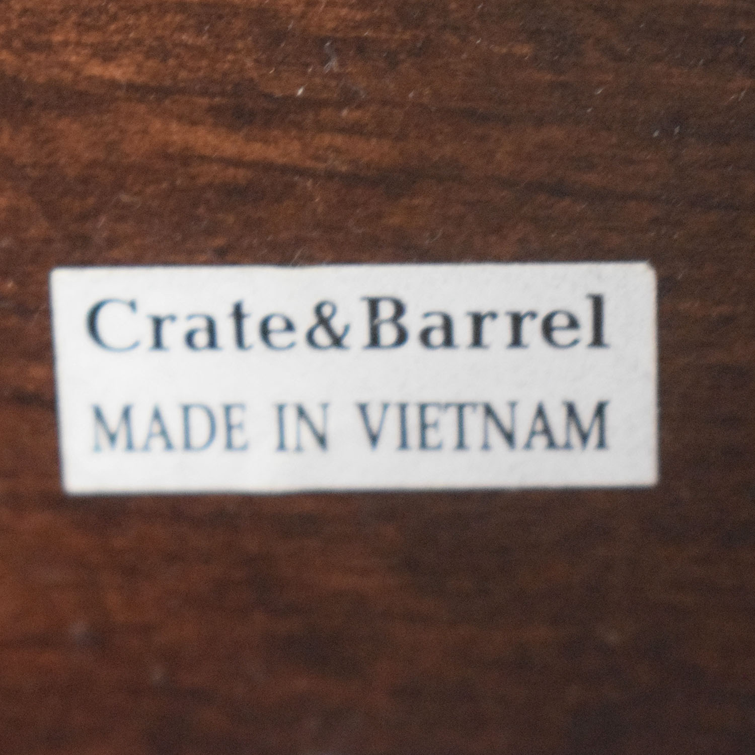 Crate & Barrel Queen Bed Frame Crate & Barrel